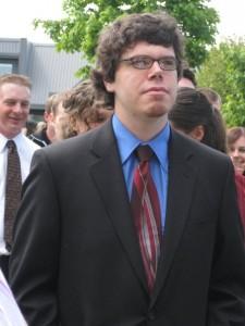 Me on Graduation Day, 2008